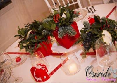 allestimento matrimonio natalizio